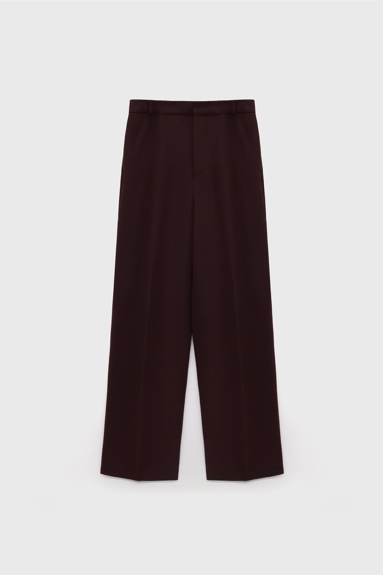 Silk Straight Pants
