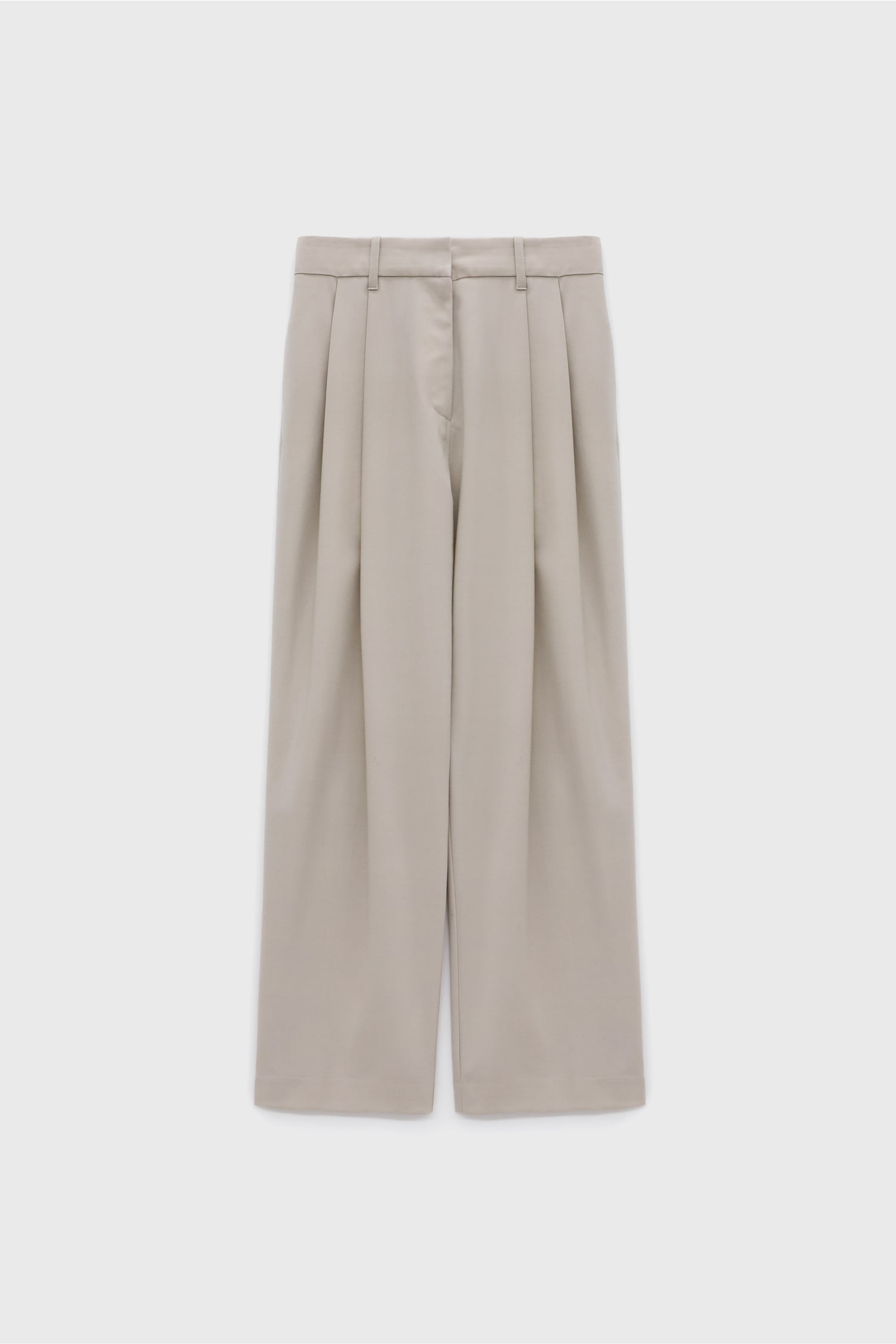 Two Pleats Pants