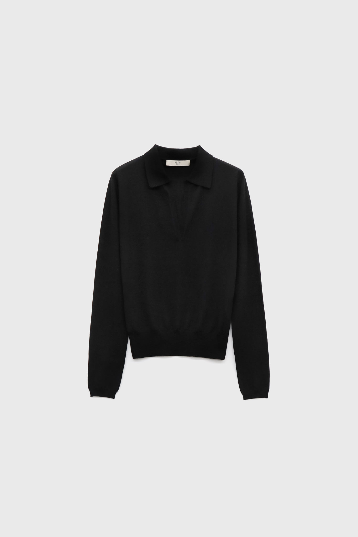 Cashmere long-sleeved sweater